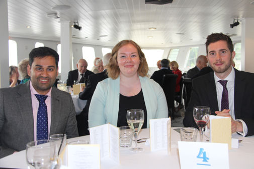 Lydia and Other OAs at London Lunch