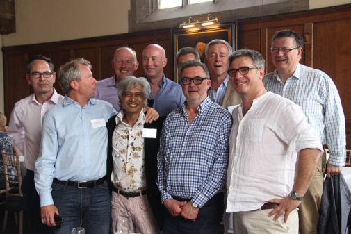 Class of 1977/78 on OA Day 2017