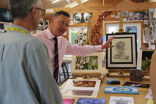 Letchmore Trust Art Competition Judging