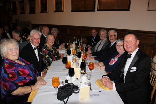 OA Dinner President's table