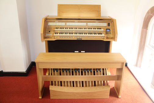 Electric Organ -gift from John Apthorp